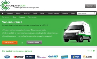 Go Compare Van Insurance >> Gocompare van insurance telephone, website, email and address