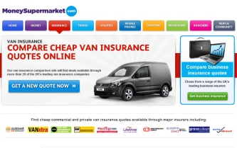 moneysupermarket.co.uk van insurance